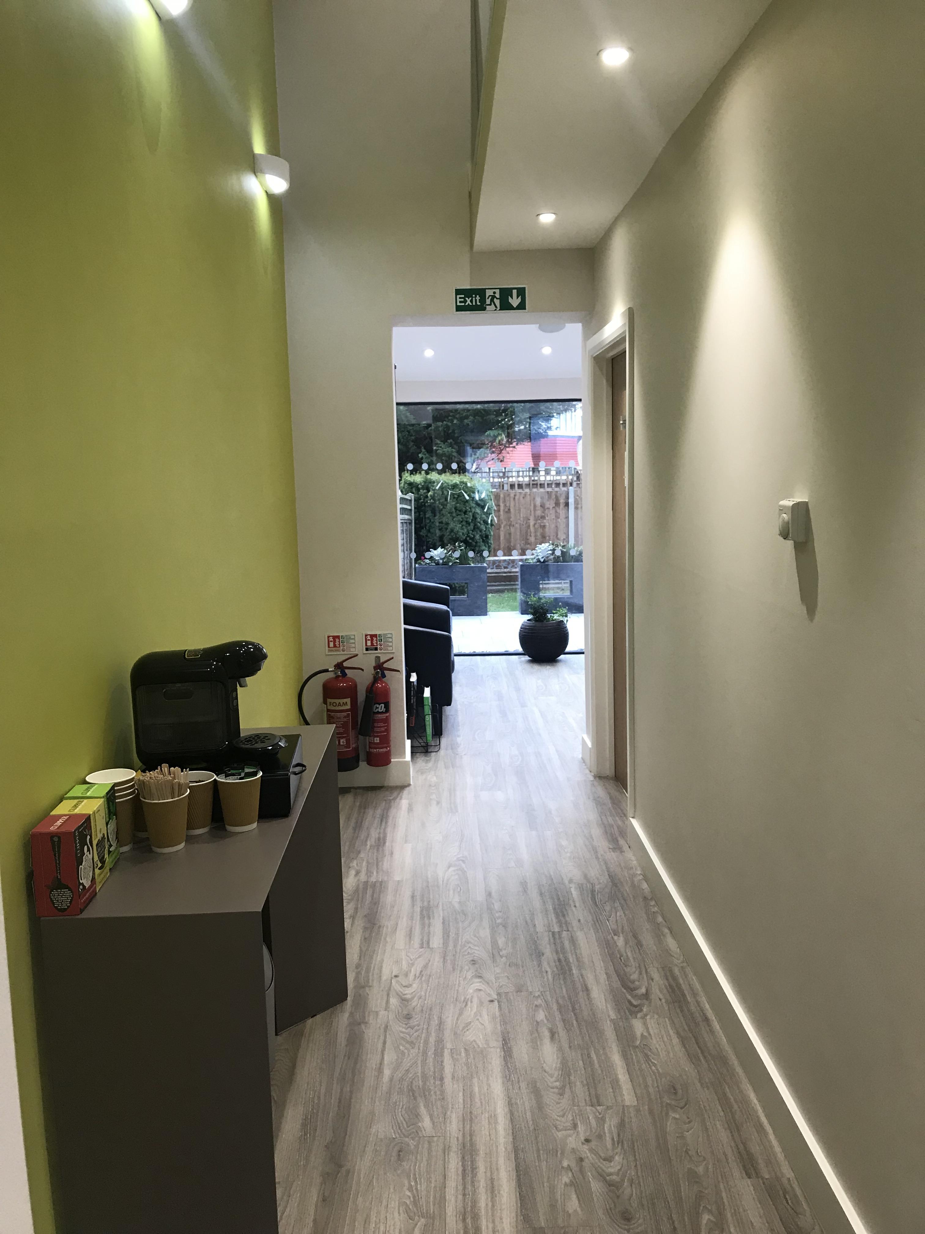 Corridor and Garden